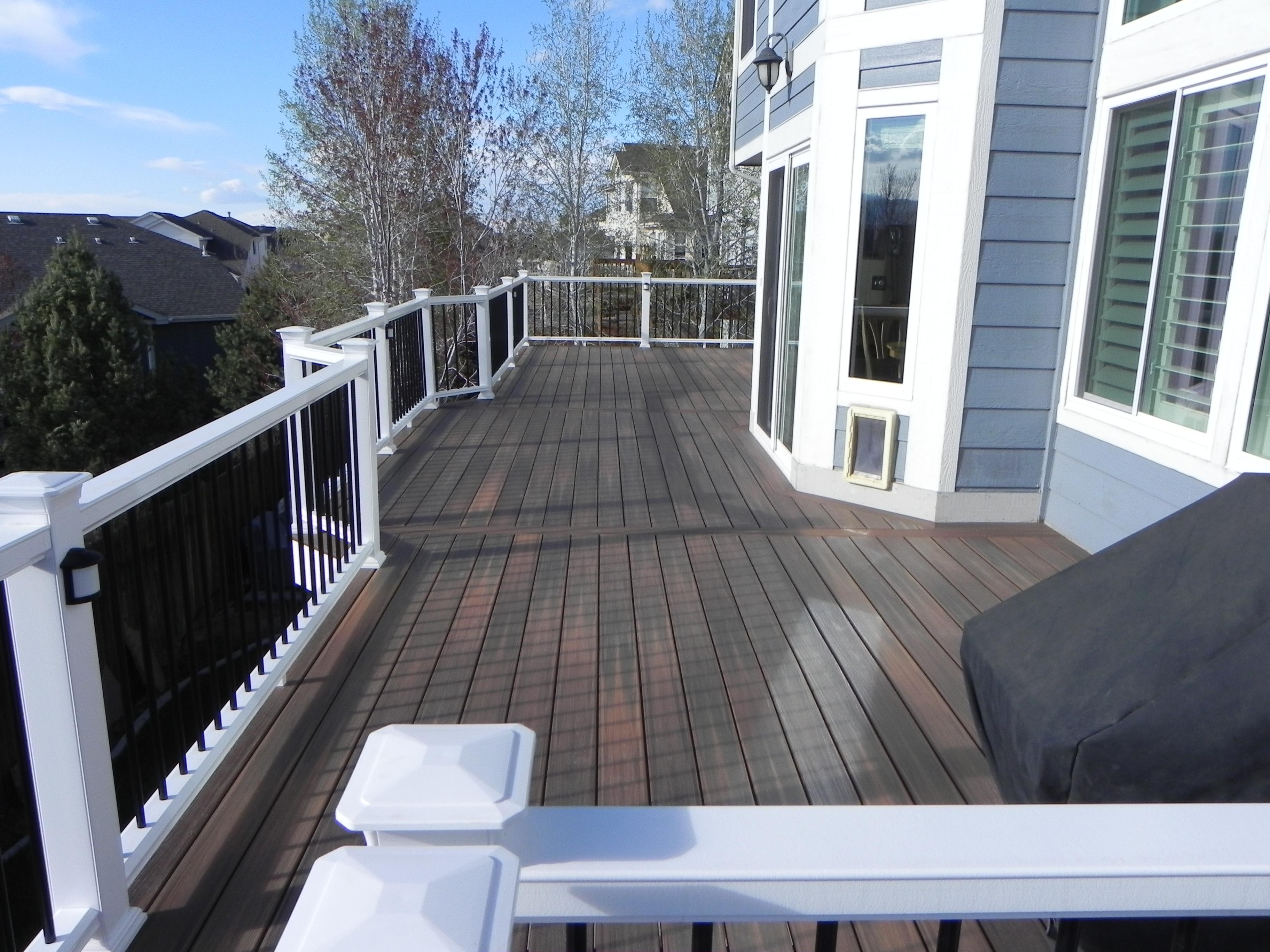 large trex decking porch   Portfolio   Craftsman Outdoor Living